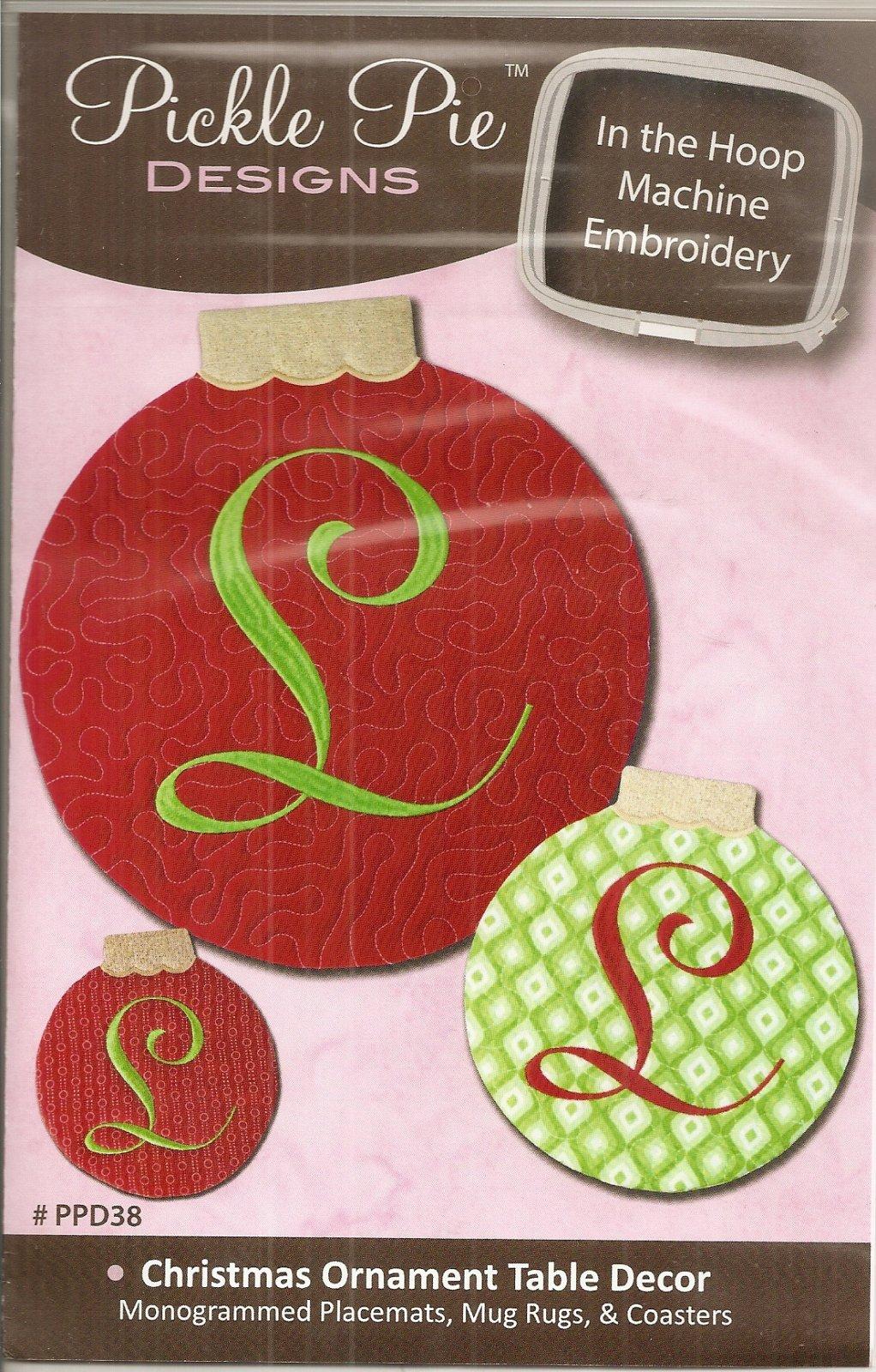 Christmas Ornament Table Decor - 755918143058