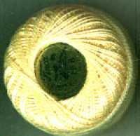 Perle Cotton - 1137 Pale Yellow