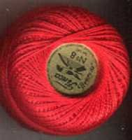 Perle Cotton - 1166 Bright Red