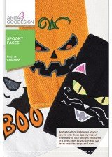 Anita Goodesign Projects Spooky Faces
