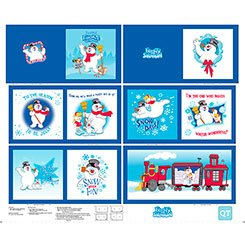 Quilting Treasures Everyone's Favorite Snowman Panel 25885 Y