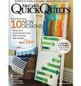 McCalls Quick Quilts August/September 2018