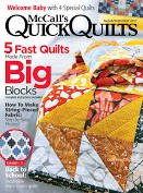 McCall's Quick Quilts August/September 2017