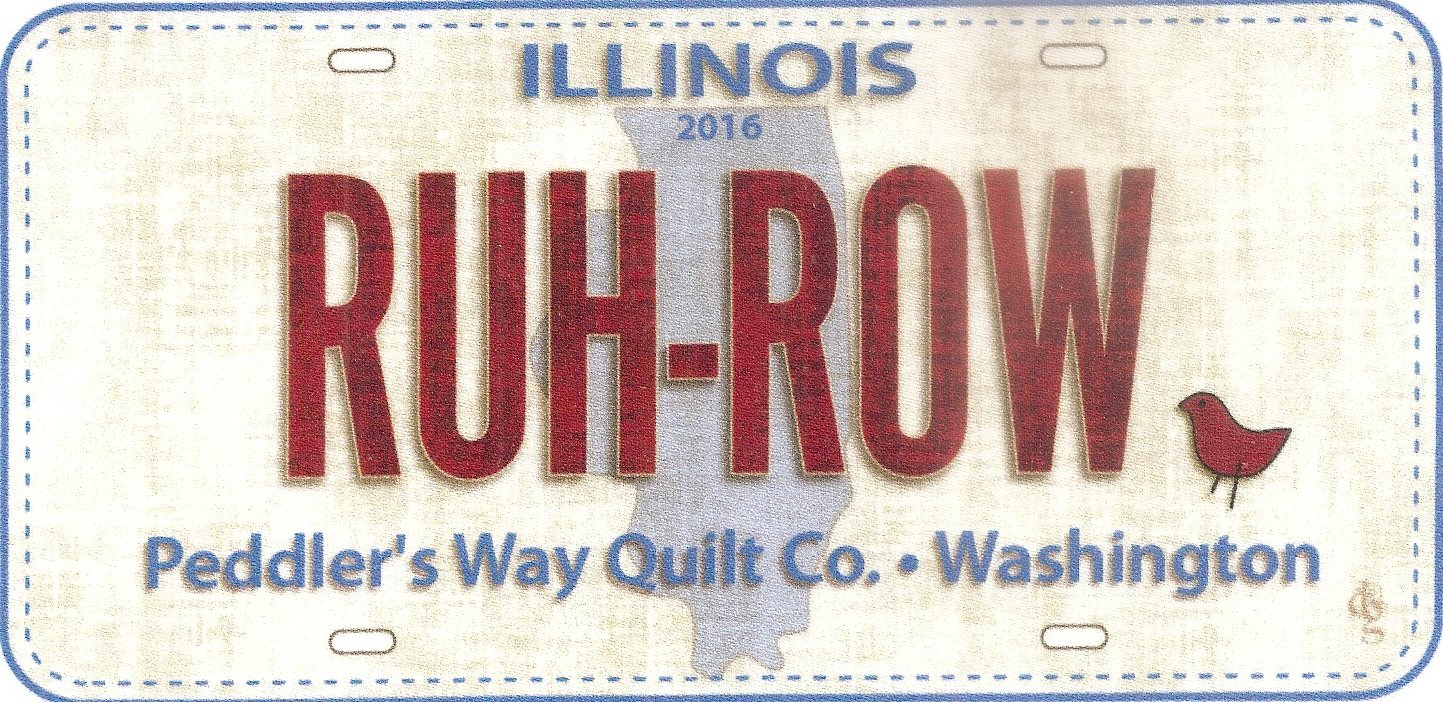 2016 Ruh Row Fabric Plate