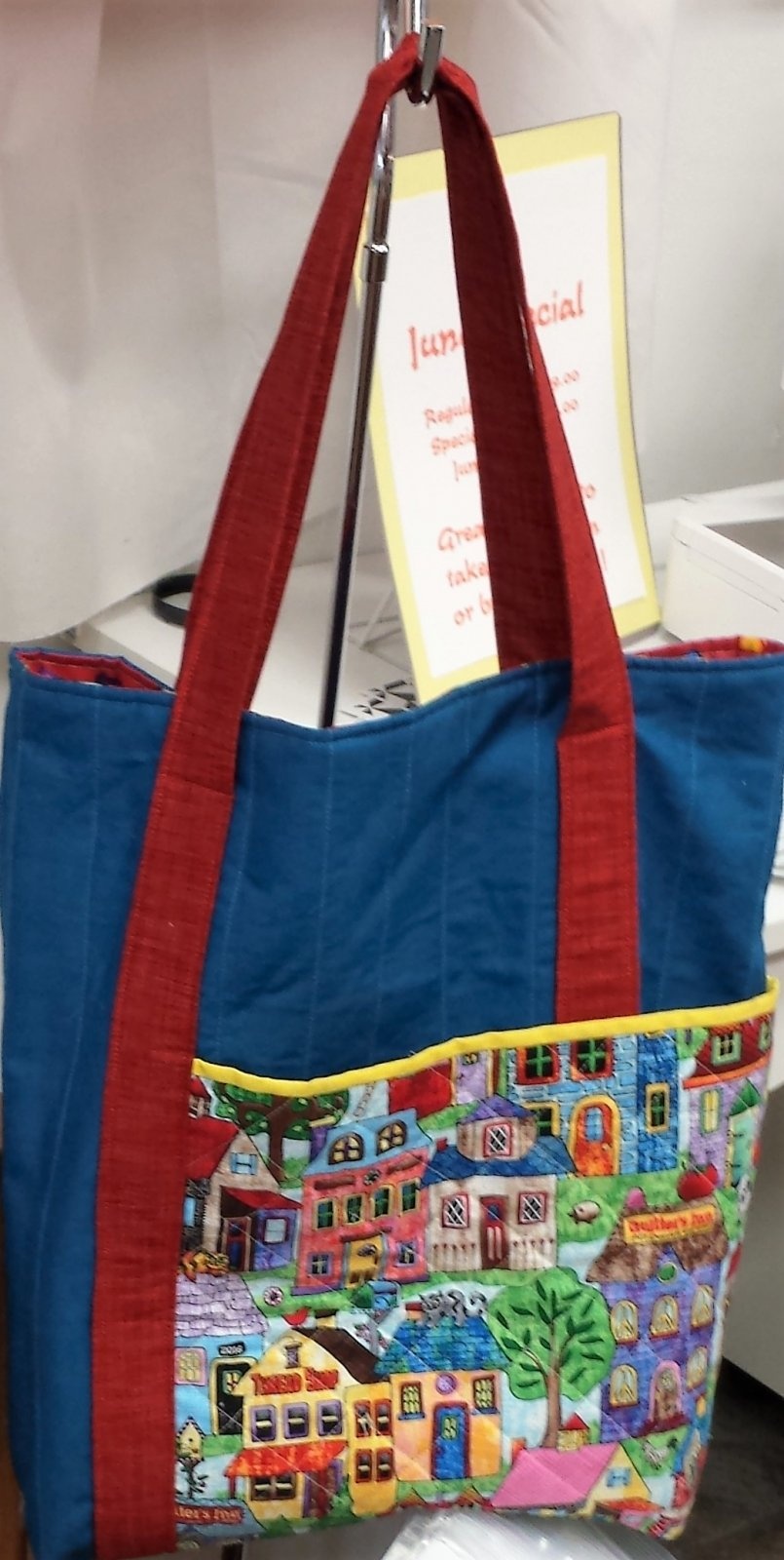 Row By Row Tote Bag Pattern