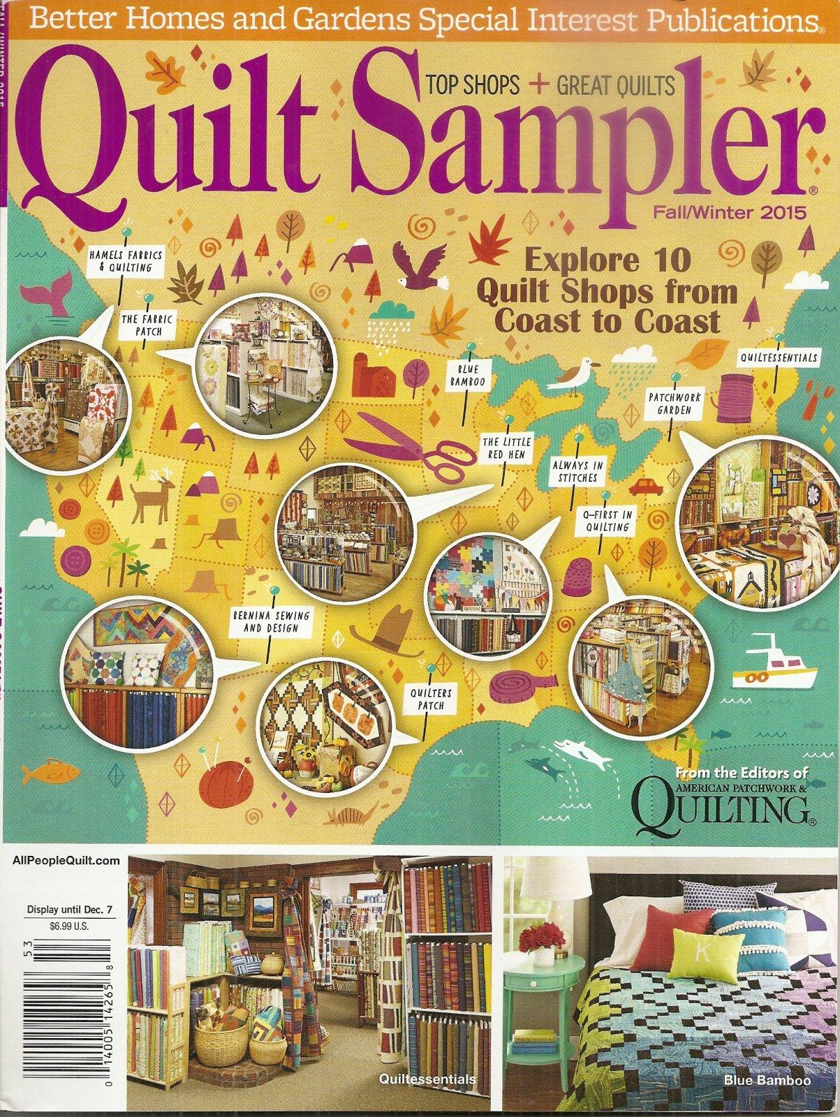 Quilt Sampler Fall/Winter 2015