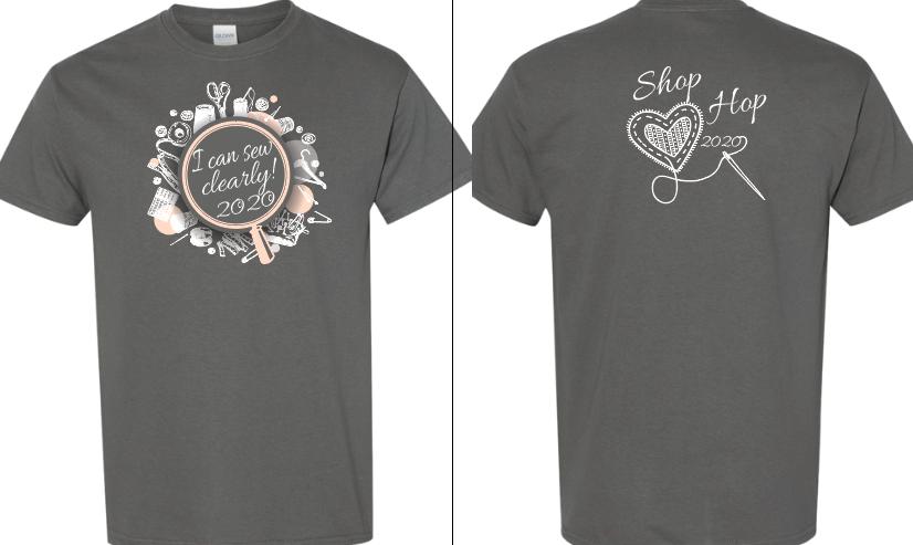Shop Hop 2020 Short Sleeve T-Shirt