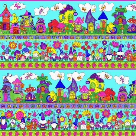 RJR Garden Gnomes - Gnome Home SM401-CY1 Cyan