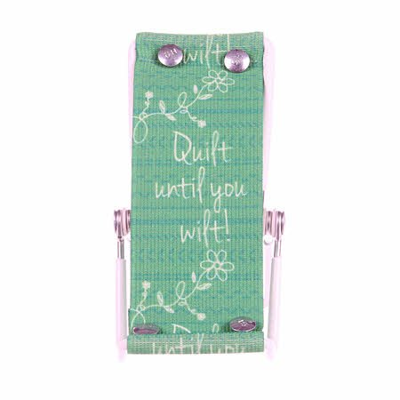 Smartphone Lounger Green - Quilt until you Wilt!