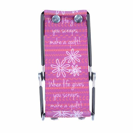 Smartphone Lounger Purple - When Life Gives You Scraps, Make a Quilt!