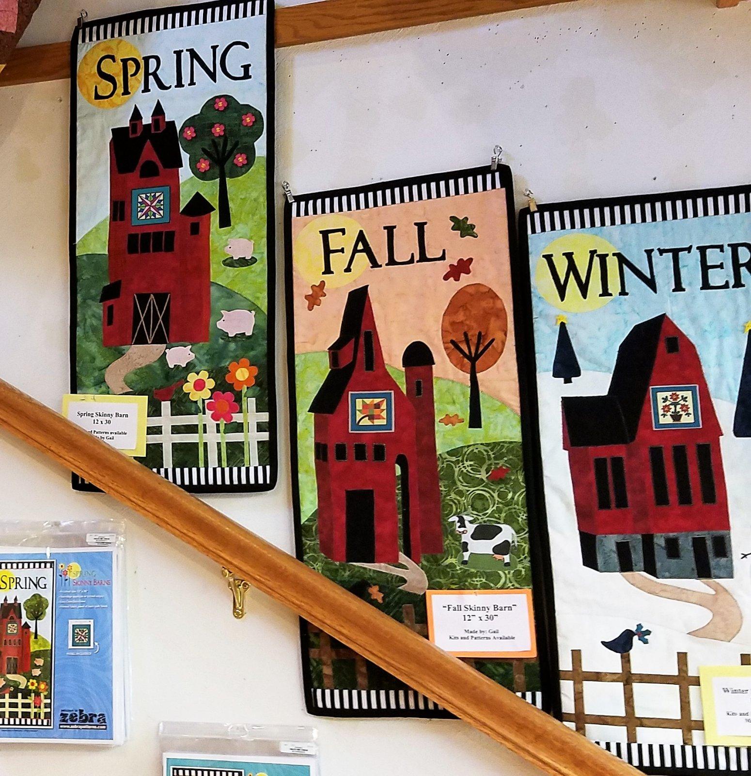Spring Skinny Barn Kit