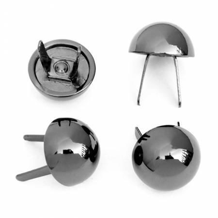 Dome Bag Feet 1/2 Gunmetal by Sallie Tomato