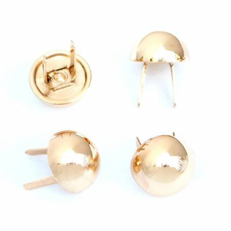 Dome Bag Feet Gold 1/2 set of 4 by Sallie Tomato