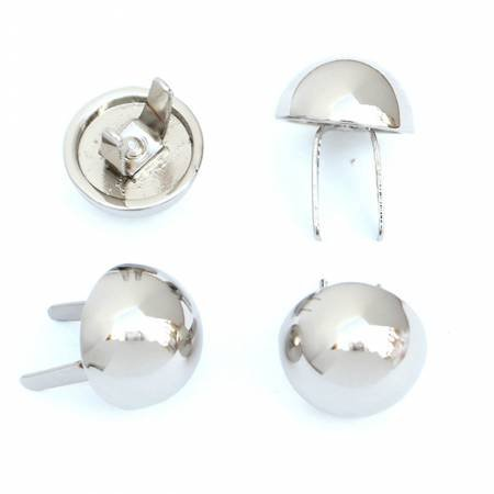 Dome Bag Feet Nickel 1/2 Set of 4 by Sallie Tomato