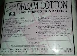 Quilters Dream Cotton Twin Natural