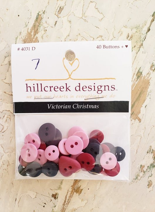 Buttons-Victorian Christmas