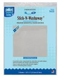 Stabilizer-Stick & Wash Away