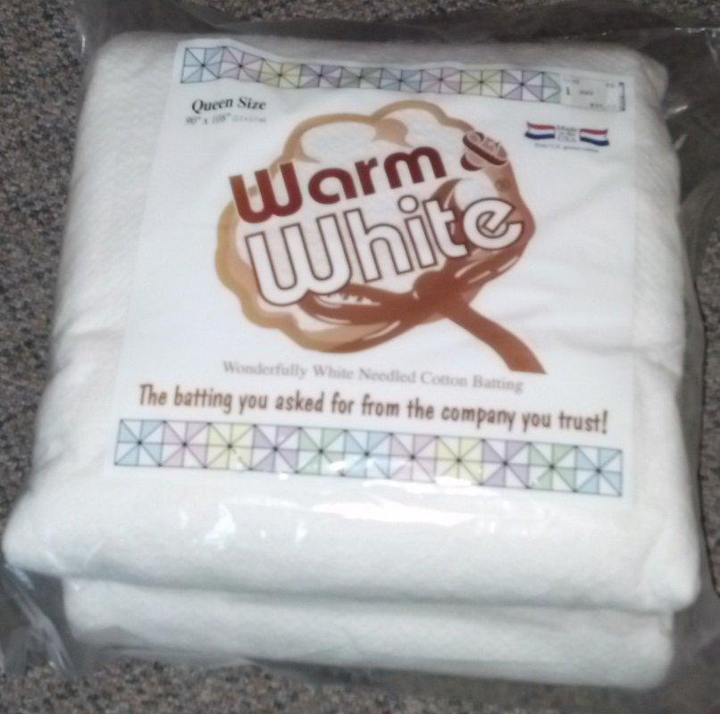Warm & White Queen Size