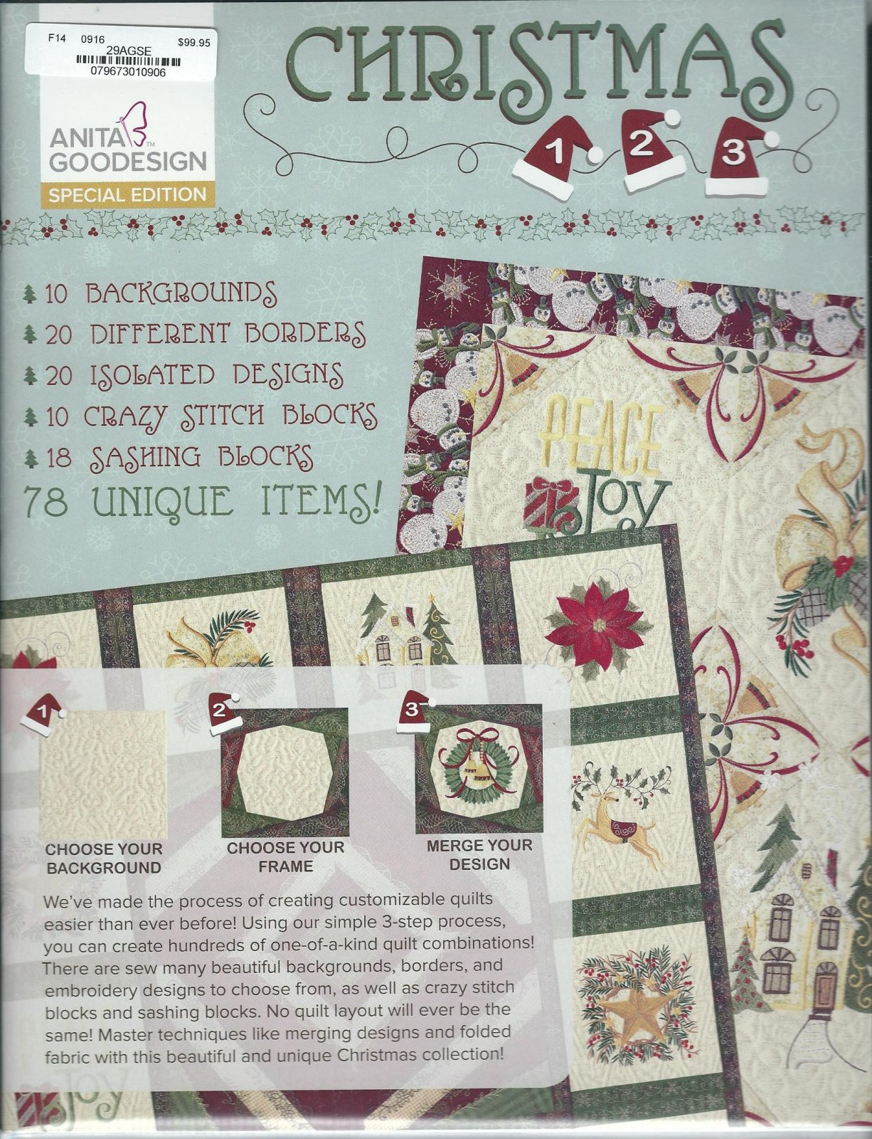 Anita Goodesign - Special Edition - Christmas 123 - 79673010906 on