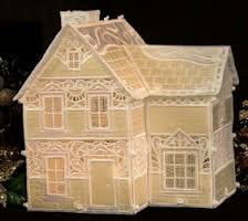 OESD Christmas Village - FSL Victorian House - 12424