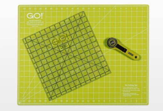 Accuquilt GO! Rotary Cutting Mat 18 x 24 Double Sided