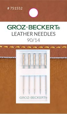 Groz-Beckert Carded 90/14 Leather