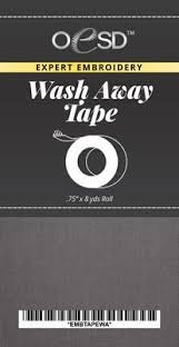 OESD Embroidery Tape Wash Away
