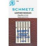 Schmetz Leather 5-pk sz18/110, 10pkg/box