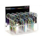 Rainbow Embroidery Titanium Scissors