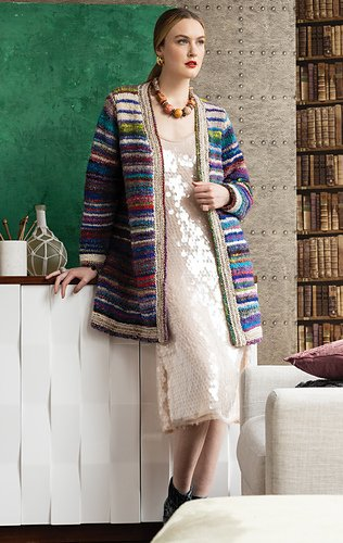 #03 OPEN CARDIGAN Kit (knit)