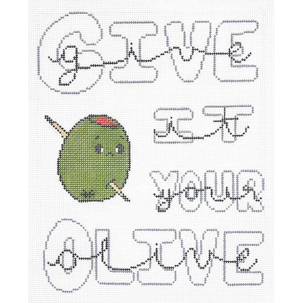 GIVE IT YOUR OLIVE