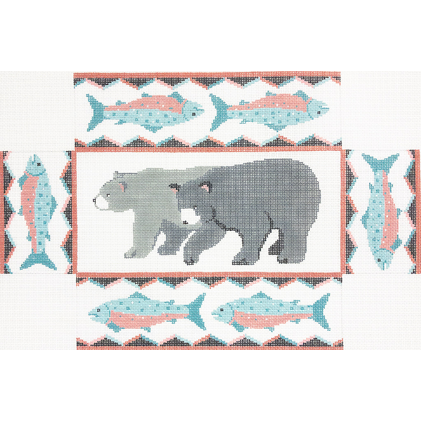 BEAR & TROUT BRICK COVER