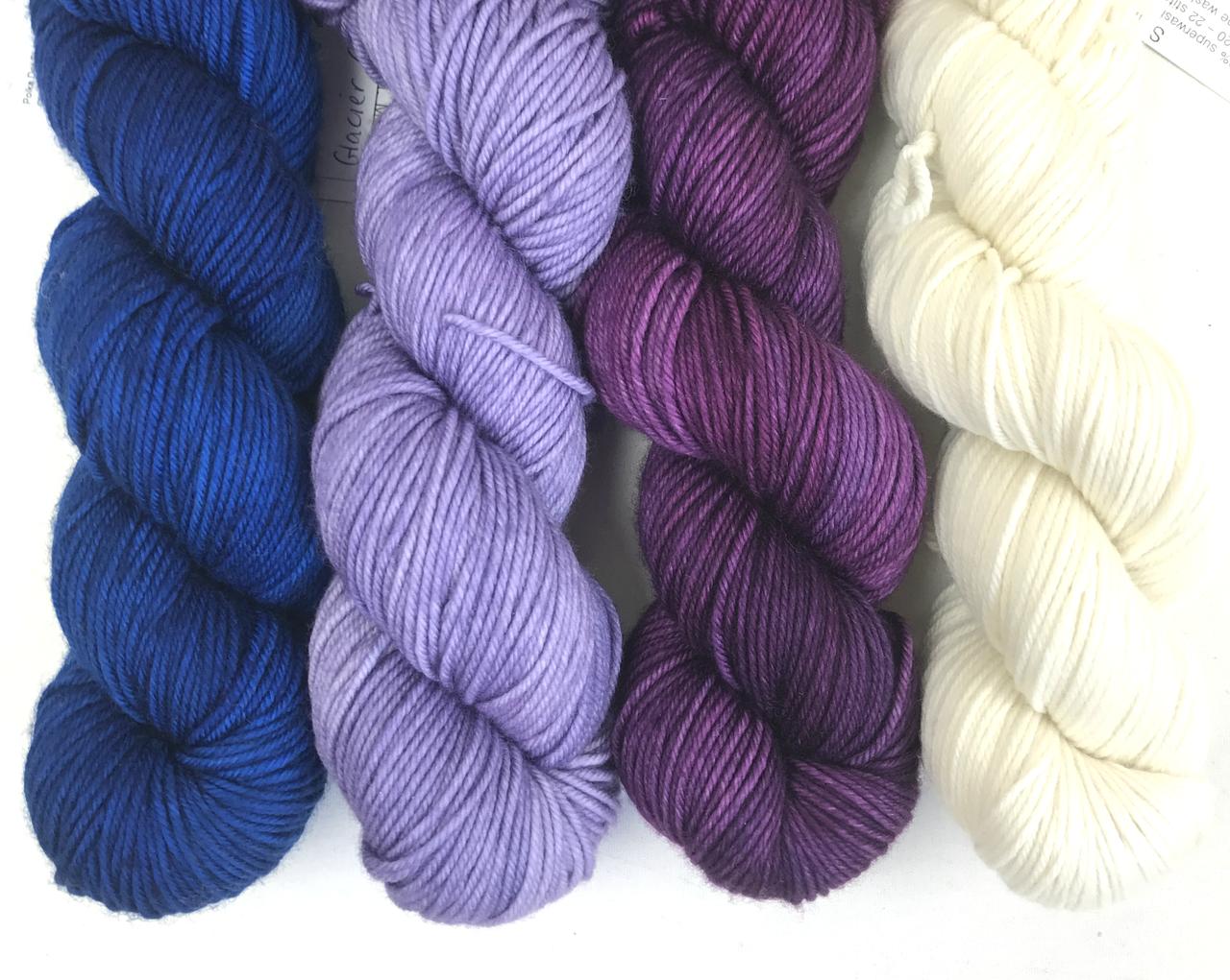 ALPENGLOW HAT KIT (knit)