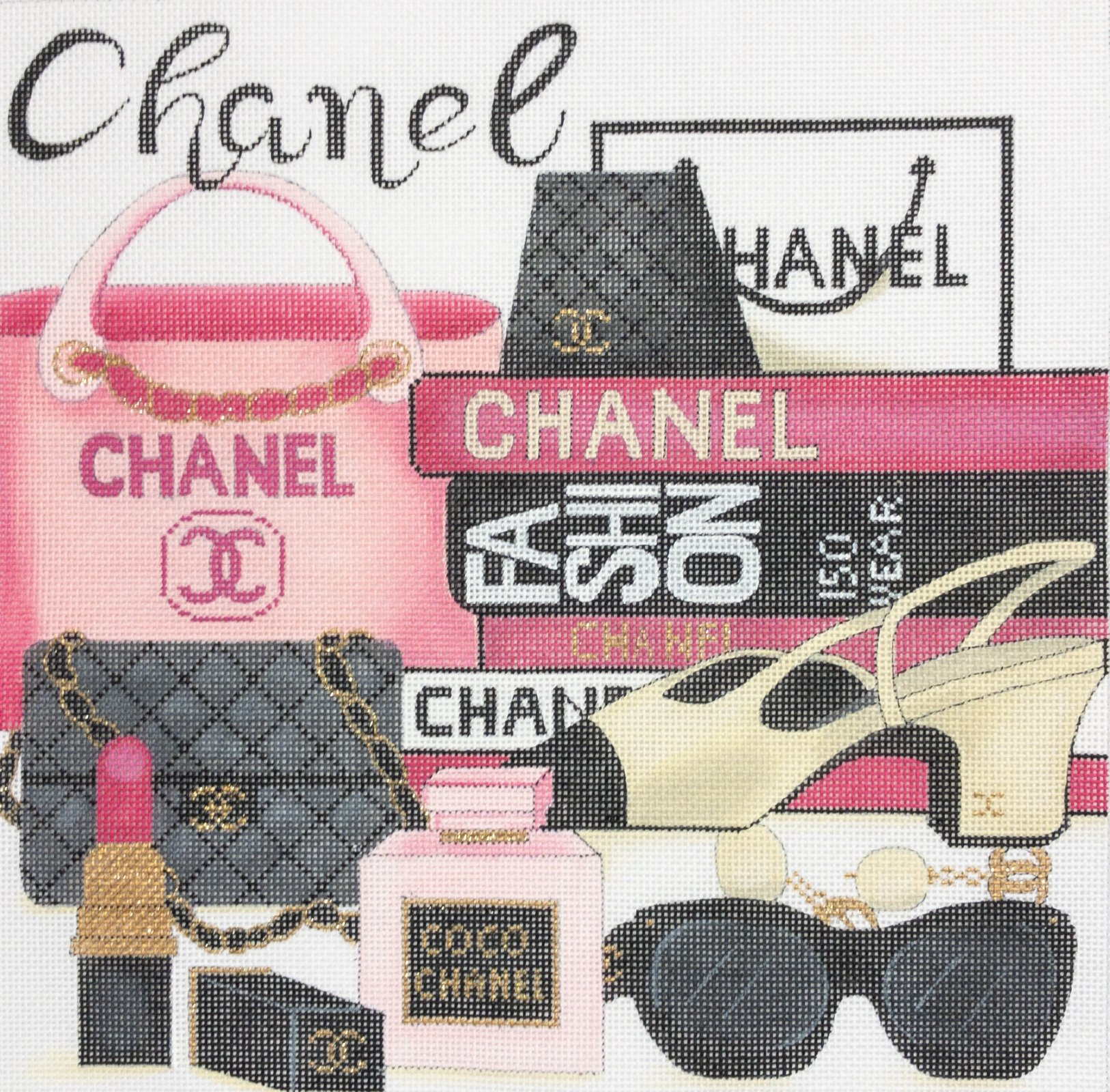 CHANEL COLLAGE