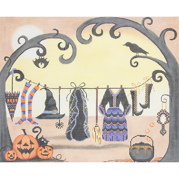 WITCHES CLOTHESLINE