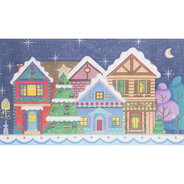 CHRISTMAS STREET SCENE