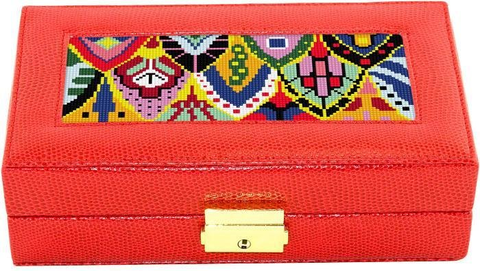 BB JEWELRY CASE RED