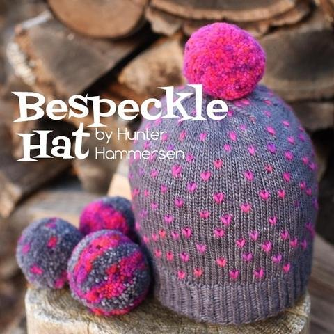 BESPECKLE HAT KIT (knit) - 65% Off
