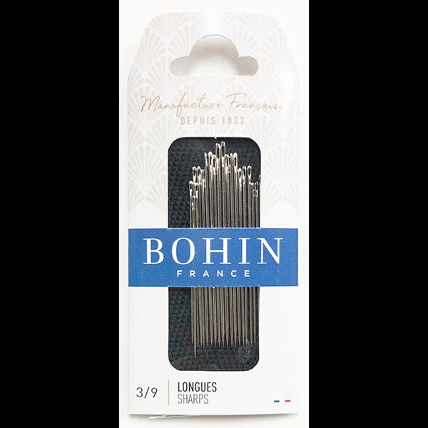 BOHIN SHARPS NEEDLES #3/9