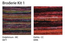 BRODERIE KIT (knit) - Drop Ship Only