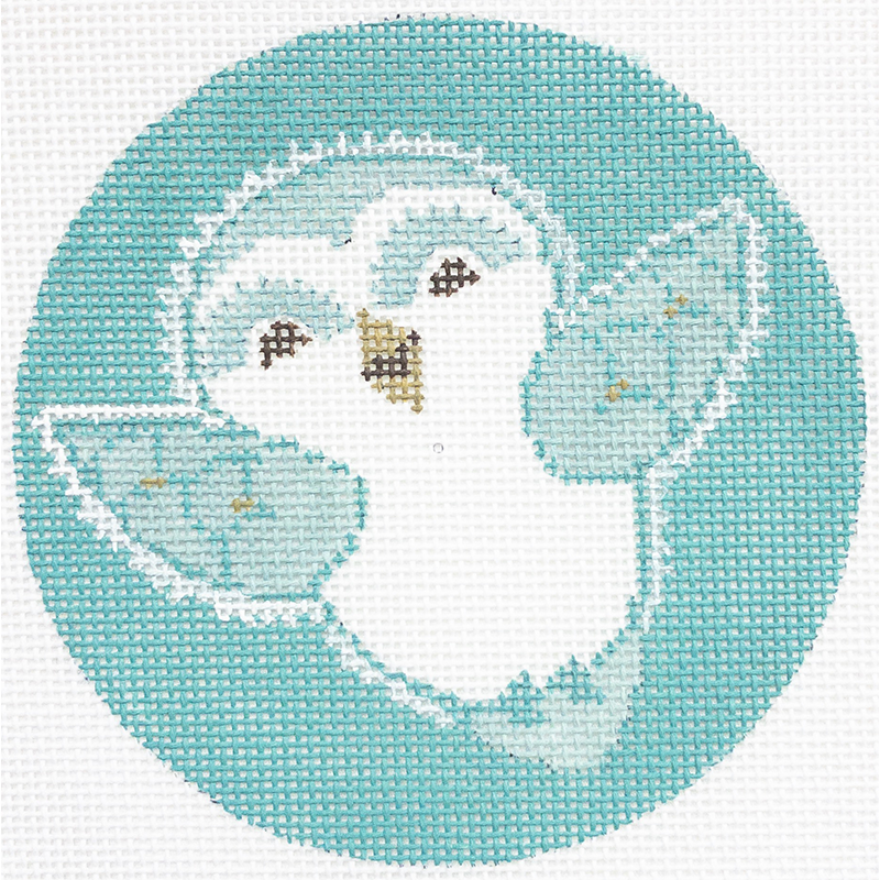 BABY SNOW OWL Teal