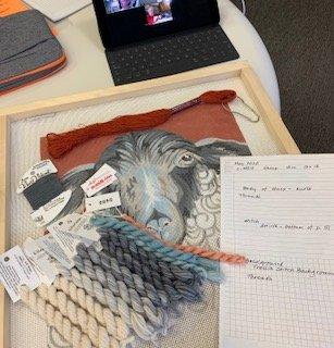 Coaching Session - Needlepoint