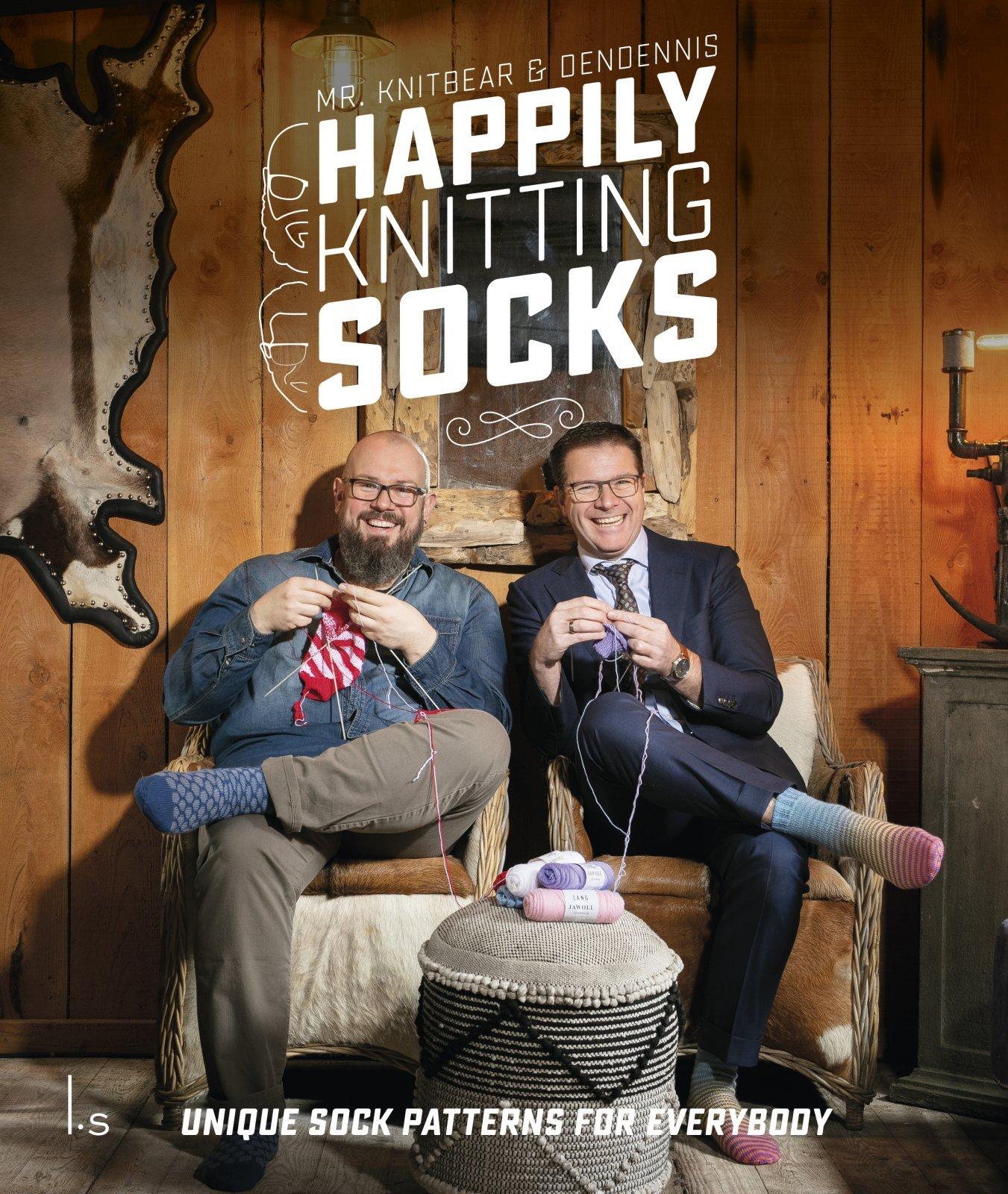 HAPPILY KNITTING SOCKS KIT (knit) - Drop Ship Only