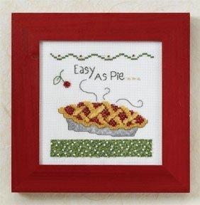 DEBBIE MUMM CROSS STITCH KIT Easy as Pie