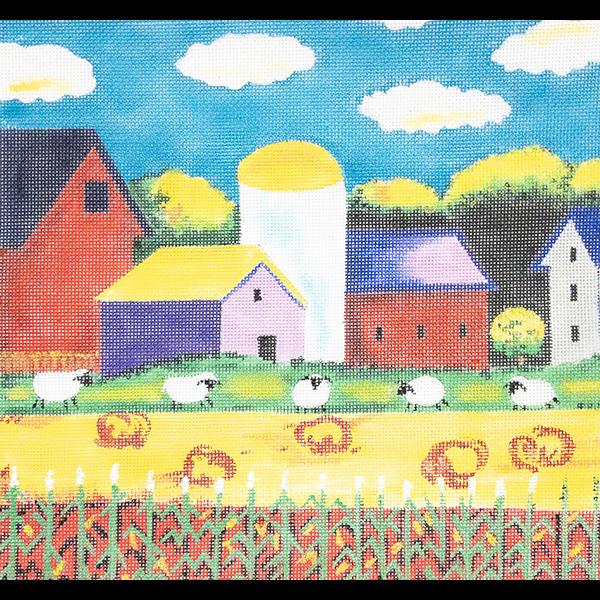 SHEEP & HAY BALES