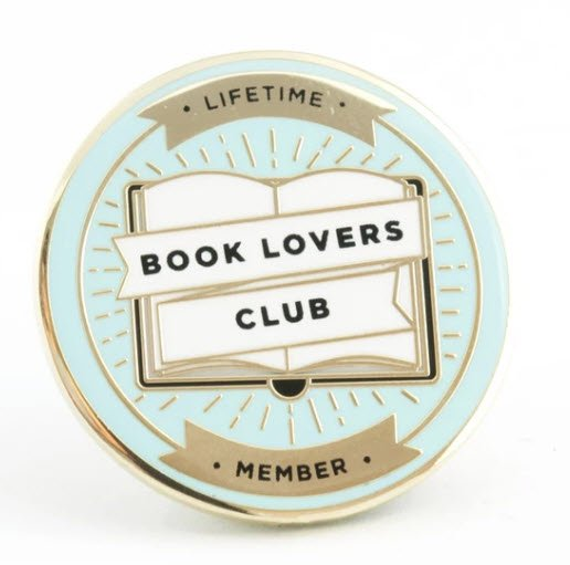 ENAMEL PIN Book Lovers Club