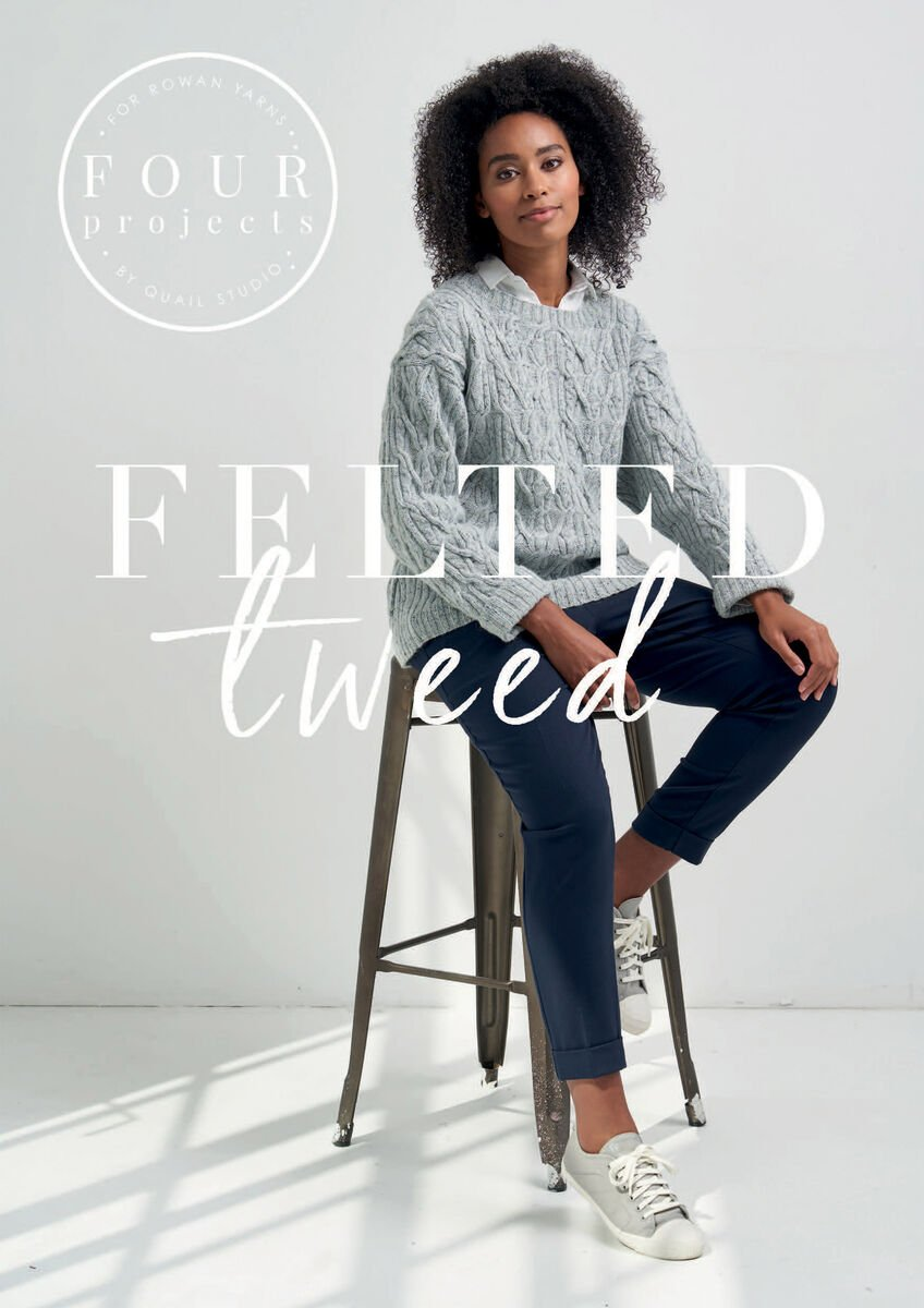 FELTED TWEED (4 PROJECTS) - 50% Off