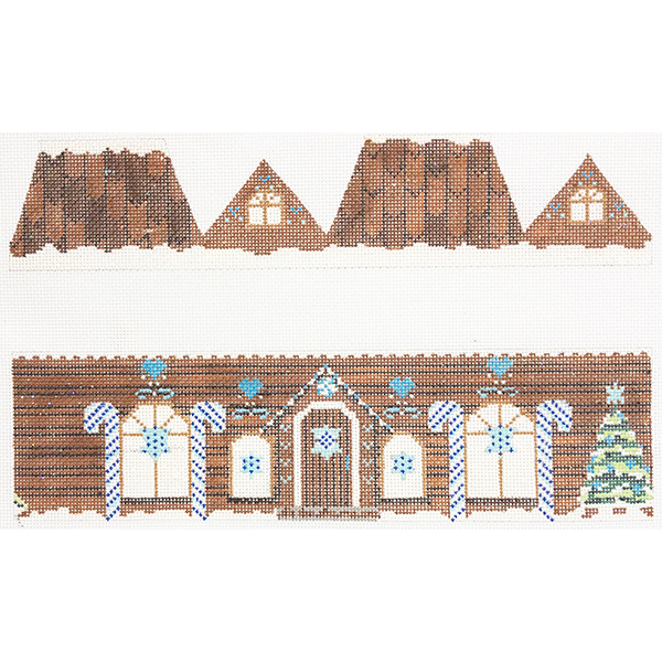 JUDAIC GINGERBREAD HOUSE