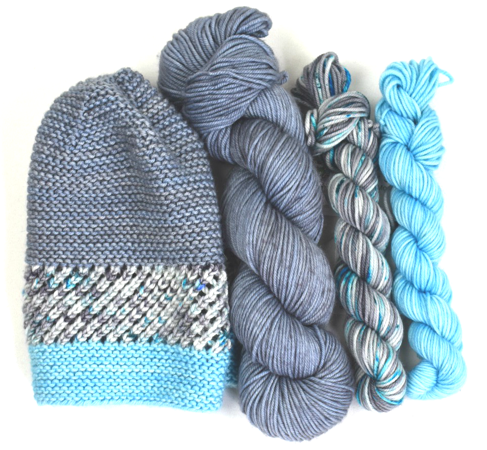 HUNGRY HORSE HAT KIT (knit)
