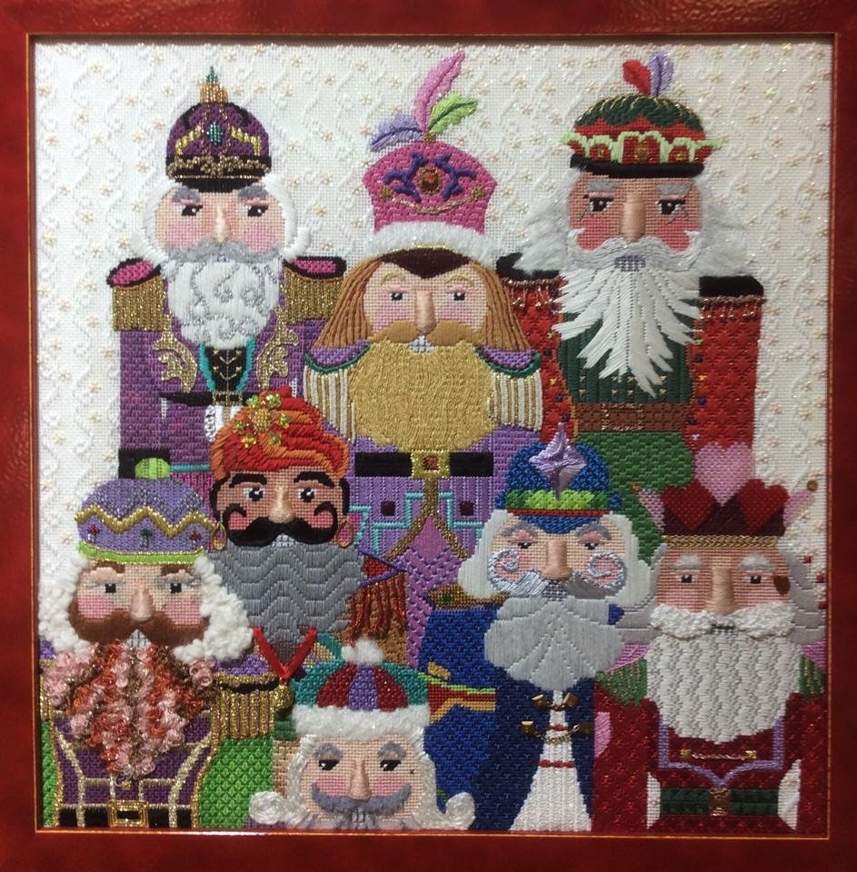 JOLLY NUTCRACKERS STITCH GUIDE
